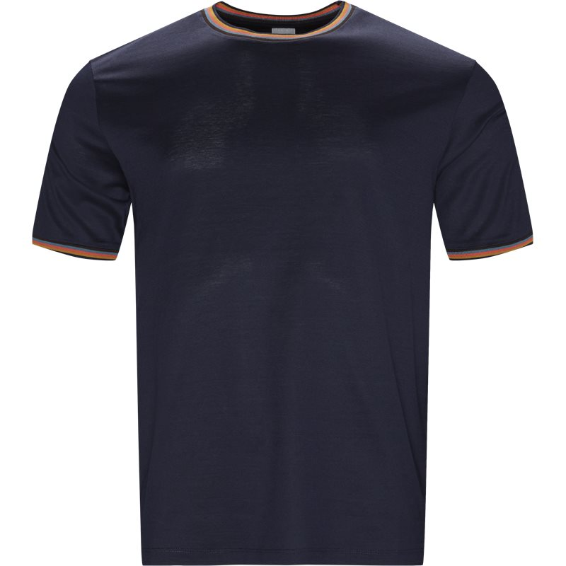 Billede af Paul Smith Main Regular fit 348S B00088 T-shirts Dark Blue